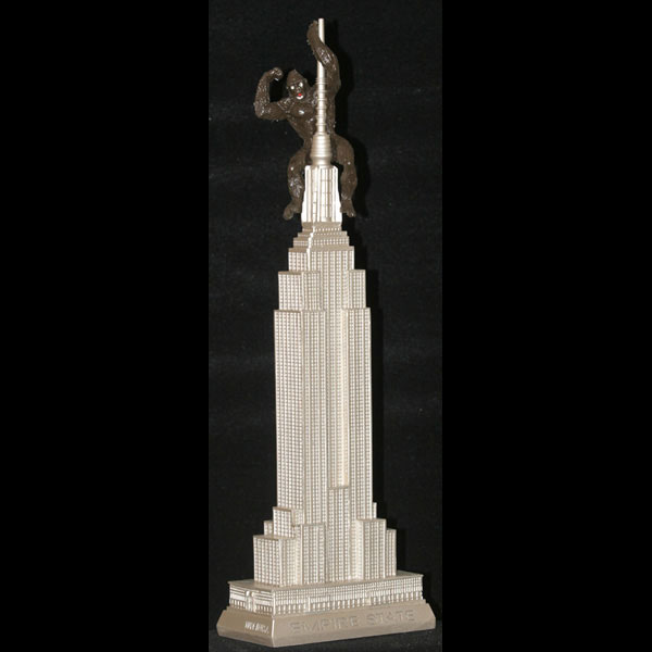 15 Inch Empire State Building w/King Kong