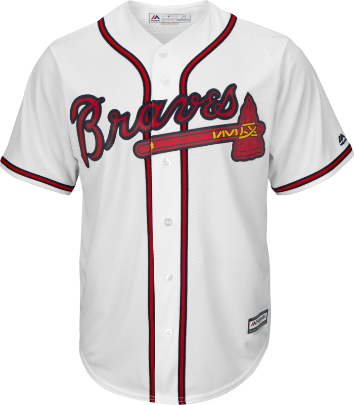 Atlanta Braves Replica Adult Home Jersey
