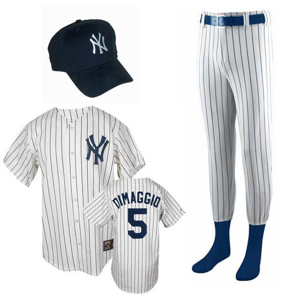 Joe Dimaggio Costume for Kids Ages 7 and Up 09c2019a362