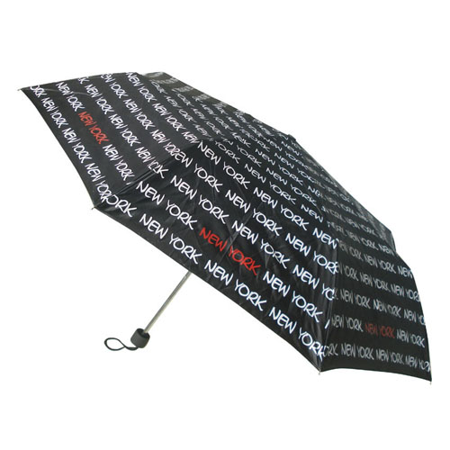 New York Black/White Umbrella