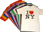 I Love NY T-Shirts in 15 Colors - 6.99