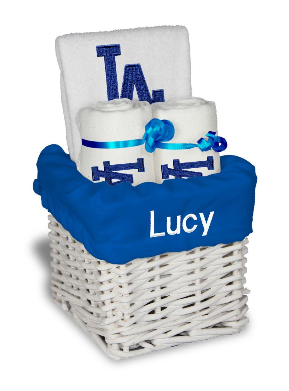 La dodgers personalized 3 piece gift basket negle Choice Image