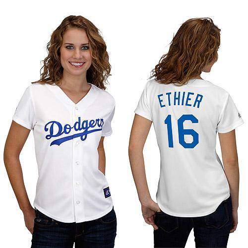 Andre Ethier La Dodgers Ladies Replica Jersey 657ec96a949